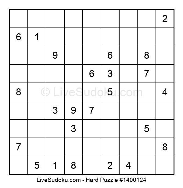 Hard Puzzle #1400124