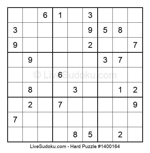 Hard Puzzle #1400164