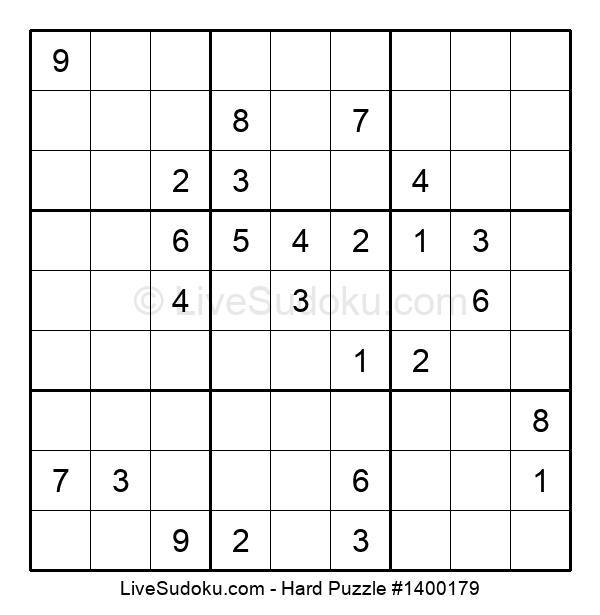 Hard Puzzle #1400179
