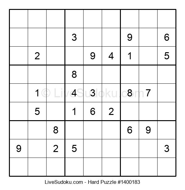 Hard Puzzle #1400183