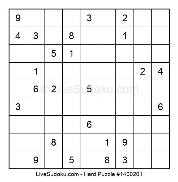 Hard Puzzle #1400201