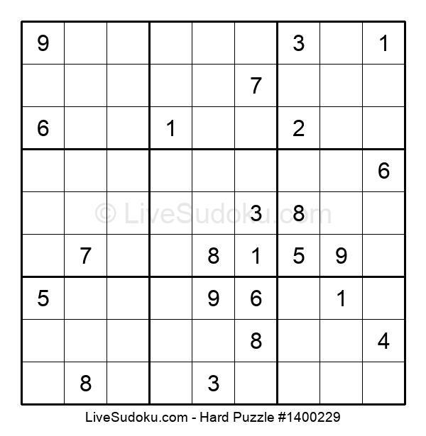 Hard Puzzle #1400229