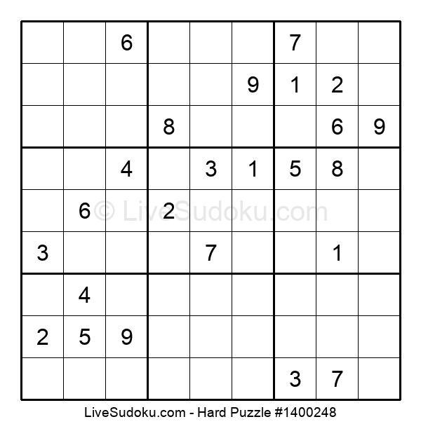 Hard Puzzle #1400248