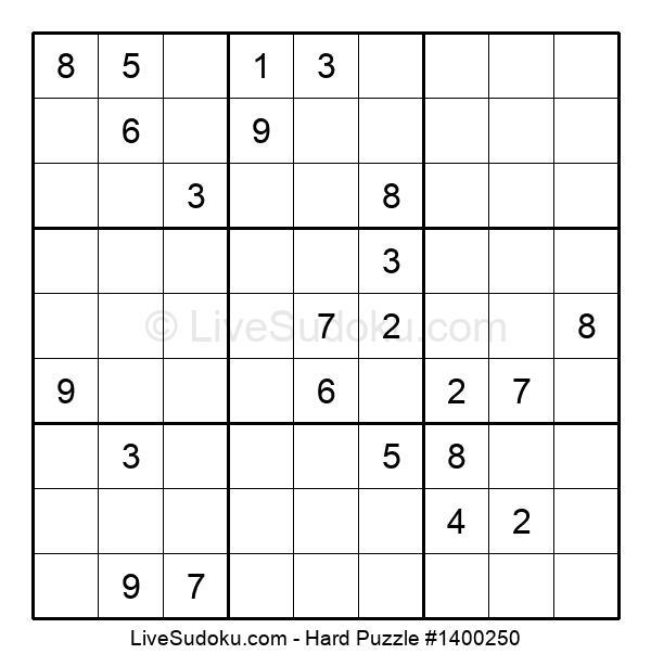 Hard Puzzle #1400250