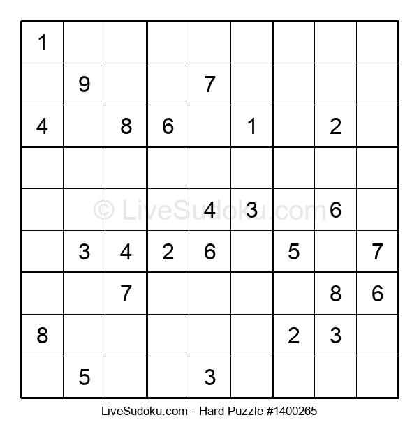 Hard Puzzle #1400265
