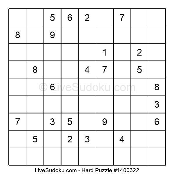 Hard Puzzle #1400322