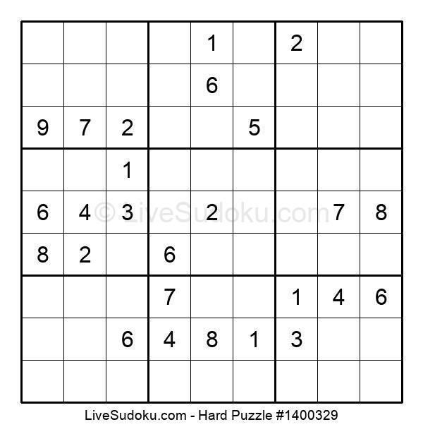 Hard Puzzle #1400329
