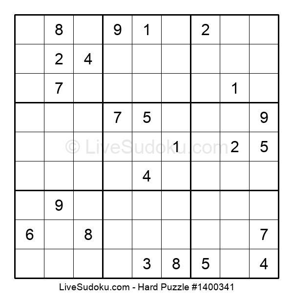 Hard Puzzle #1400341