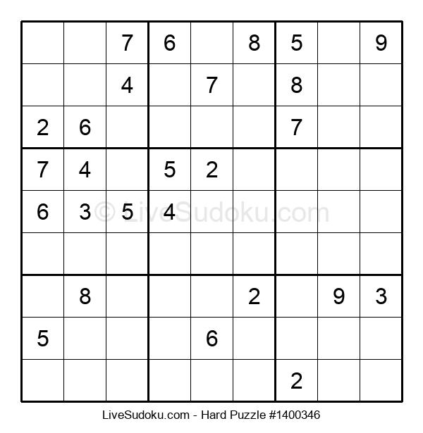 Hard Puzzle #1400346