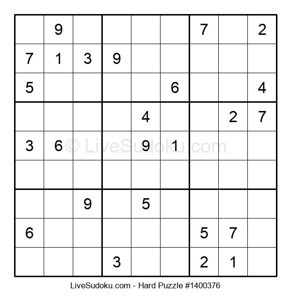 Hard Puzzle #1400376
