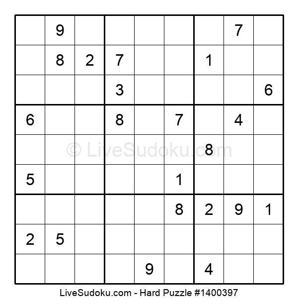 Hard Puzzle #1400397