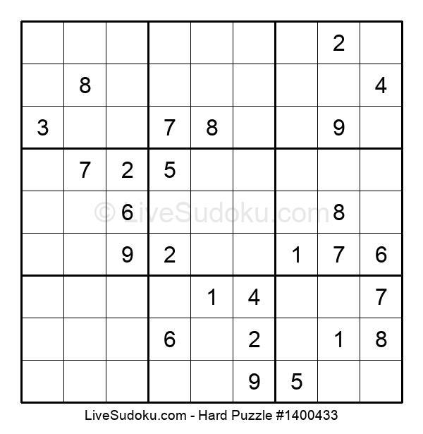 Hard Puzzle #1400433