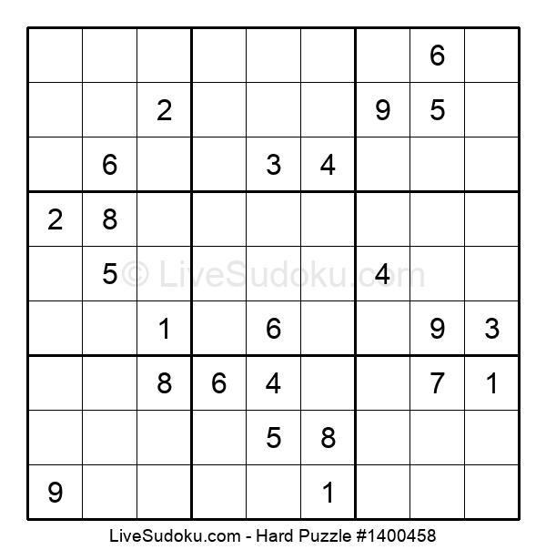 Hard Puzzle #1400458