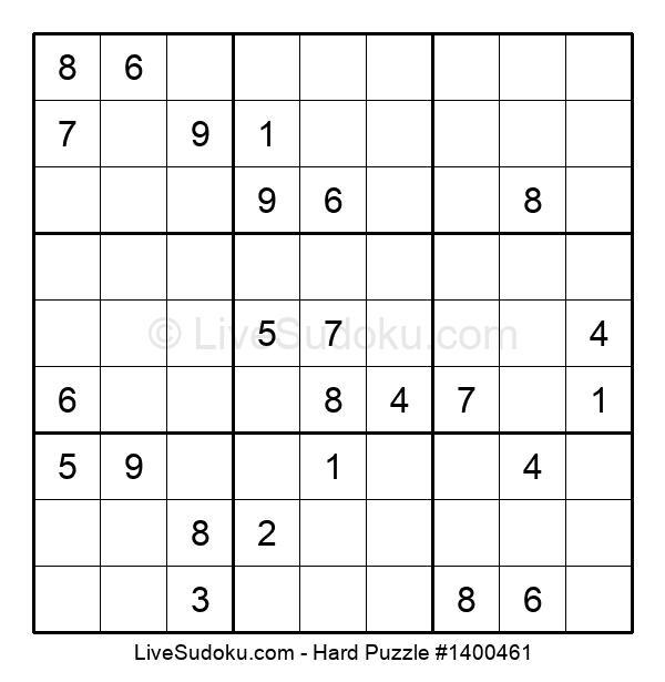 Hard Puzzle #1400461