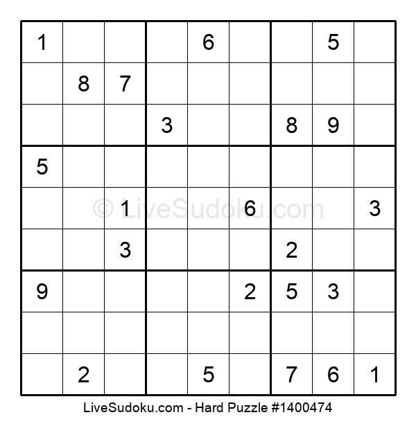 Hard Puzzle #1400474