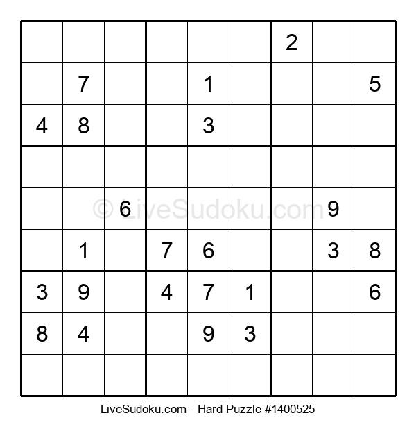 Hard Puzzle #1400525