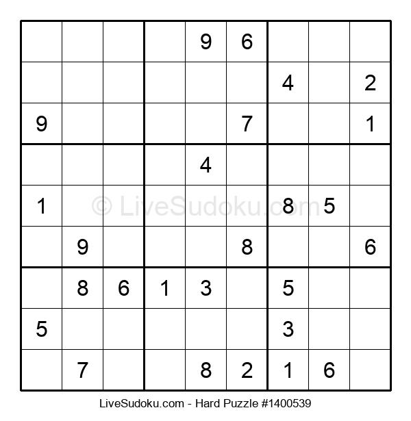 Hard Puzzle #1400539