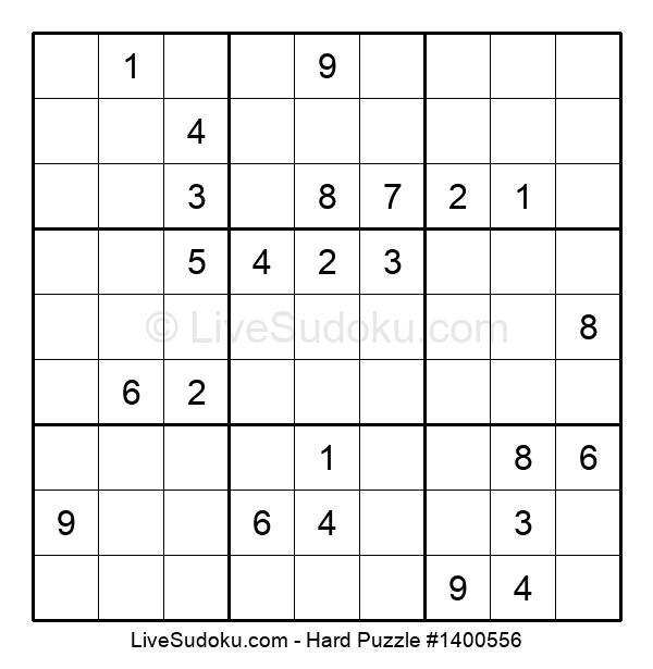 Hard Puzzle #1400556