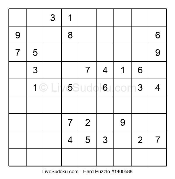 Hard Puzzle #1400588
