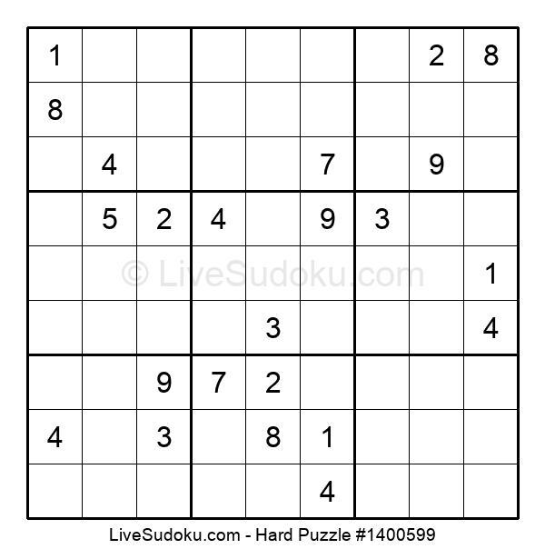 Hard Puzzle #1400599