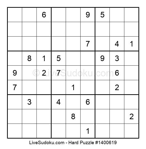 Hard Puzzle #1400619