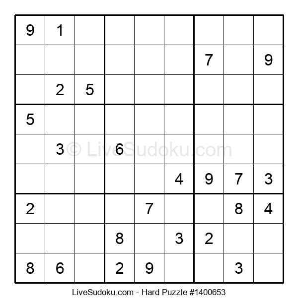 Hard Puzzle #1400653
