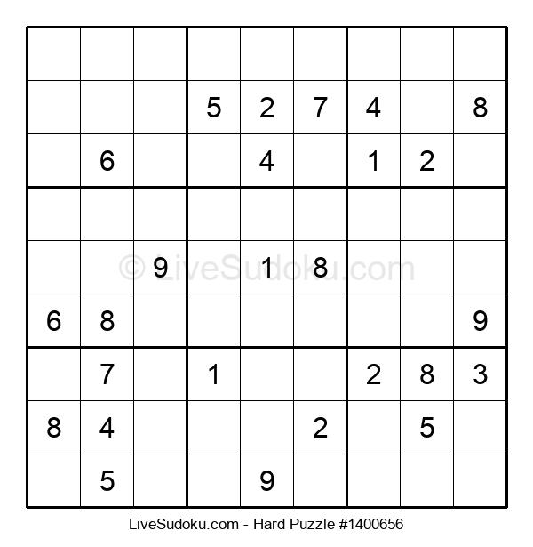 Hard Puzzle #1400656