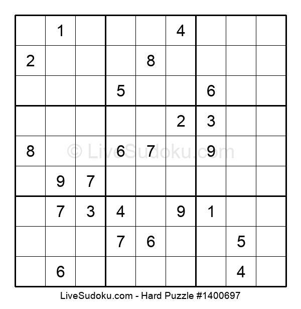 Hard Puzzle #1400697
