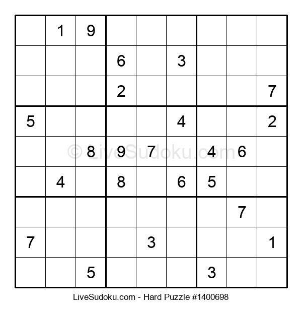 Hard Puzzle #1400698