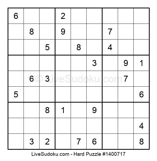 Hard Puzzle #1400717