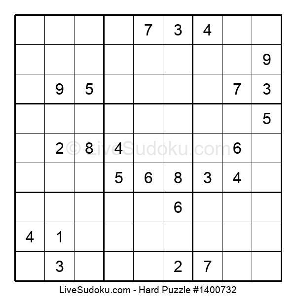 Hard Puzzle #1400732