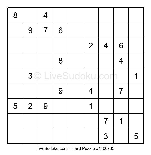 Hard Puzzle #1400735