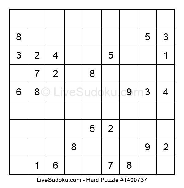 Hard Puzzle #1400737