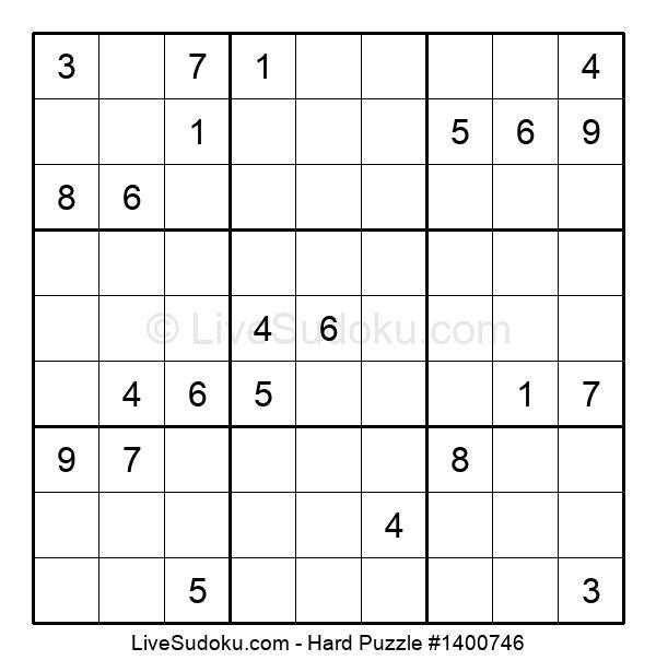 Hard Puzzle #1400746