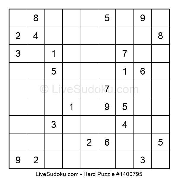 Hard Puzzle #1400795