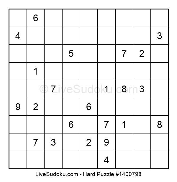 Hard Puzzle #1400798
