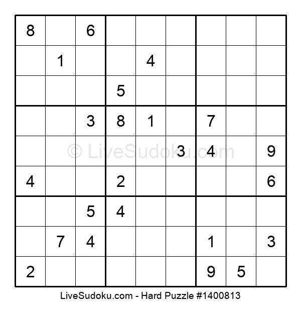 Hard Puzzle #1400813