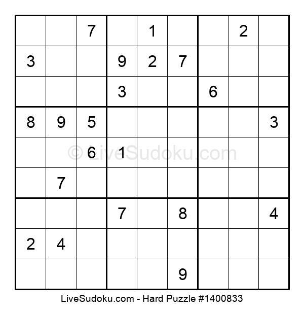 Hard Puzzle #1400833