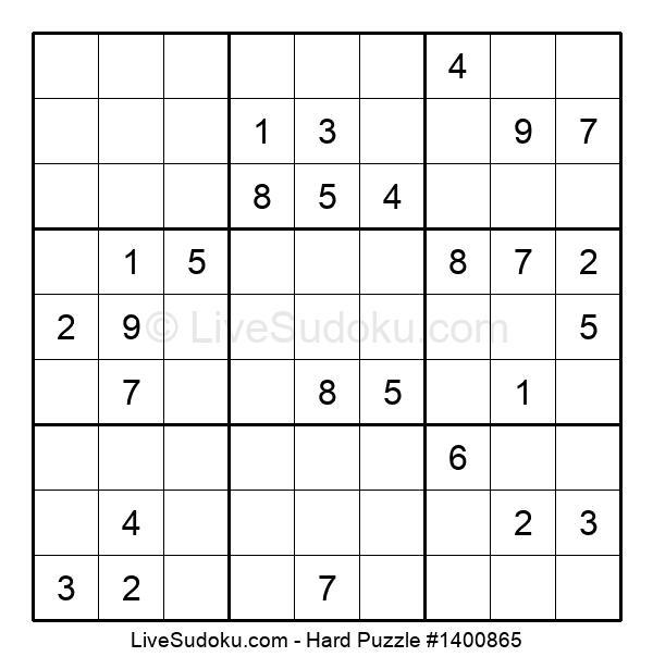 Hard Puzzle #1400865