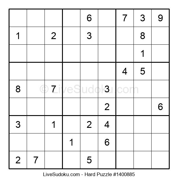 Hard Puzzle #1400885