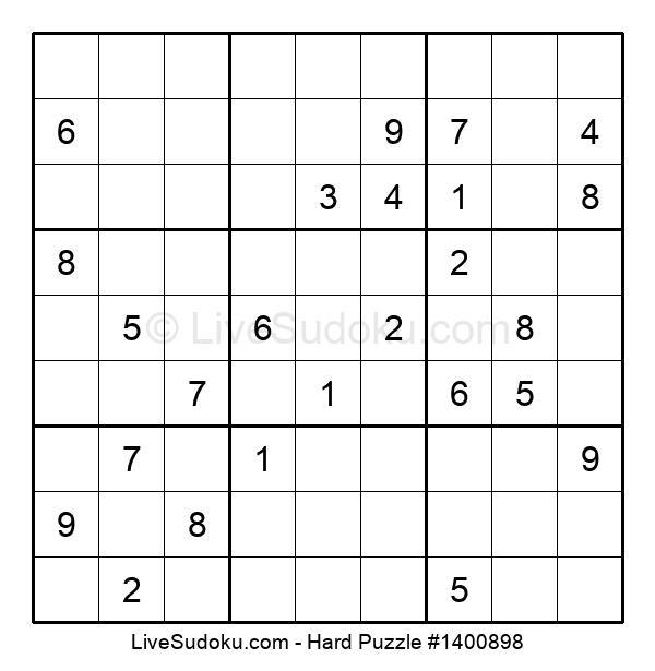 Hard Puzzle #1400898