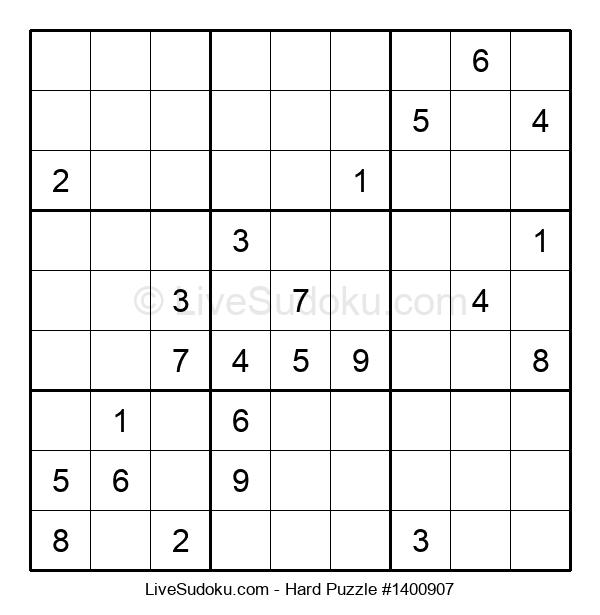 Hard Puzzle #1400907