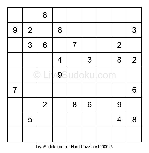 Hard Puzzle #1400926