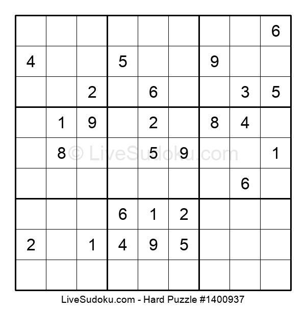Hard Puzzle #1400937