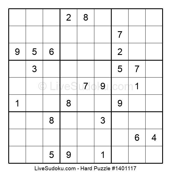 Hard Puzzle #1401117