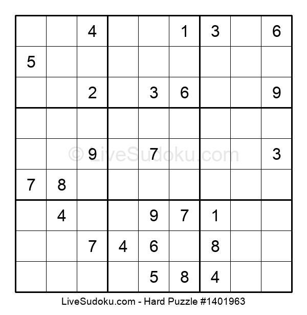 Hard Puzzle #1401963