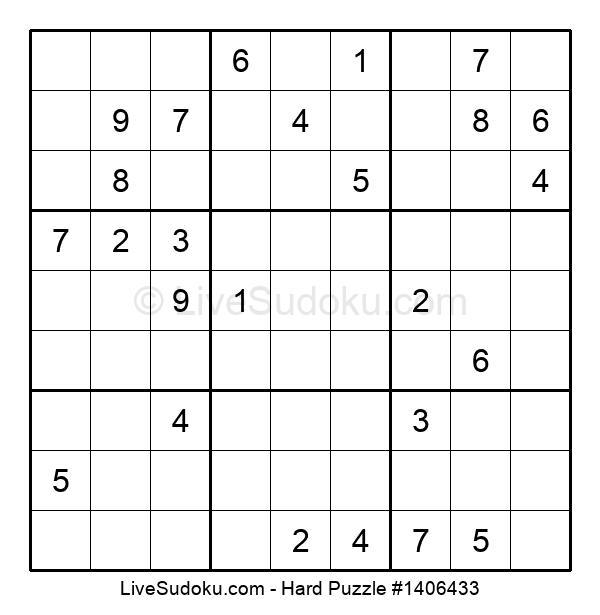 Hard Puzzle #1406433