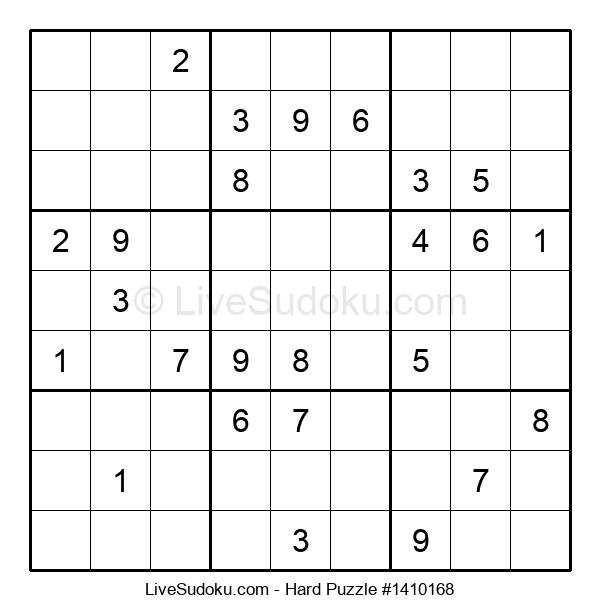 Hard Puzzle #1410168