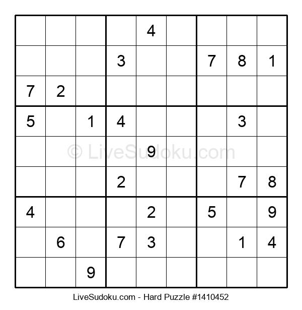 Hard Puzzle #1410452