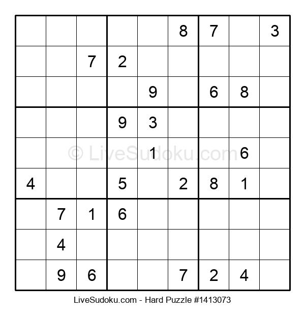 Hard Puzzle #1413073